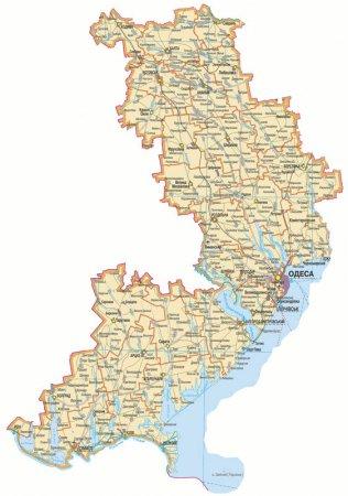 Характеристика Одеської області